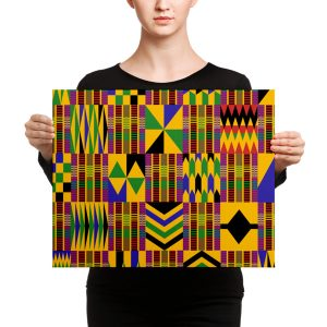KENTE WALL ART
